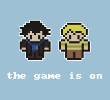 8-Bit Sherlock: The Game is On Kids Clothes