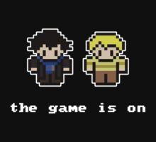 8-Bit Sherlock: The Game is On T-Shirt