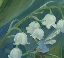 Lily of the Valley by JamesBrowneArt