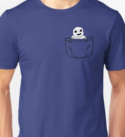 Pocket Kodama Unisex T-Shirt