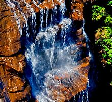 Wentworth Falls - Blue Mtns  - OZ by Warren. A. Williams