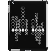 Kinda Into One Direction and 5SOS - White iPad Case/Skin
