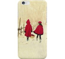 Merry Christmas - Delivering Festive Cheer iPhone Case/Skin
