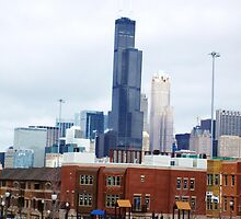 Sears Tower-ing behind by Brad Hutchings