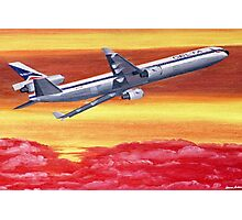 Delta Air Lines MD-11 circa 1994 Photographic Print