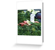 Natural Grown Greeting Card