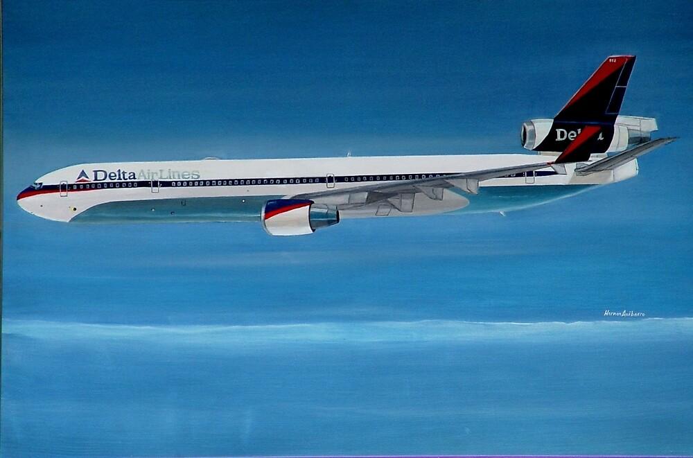 Delta Air Lines MD-11 by Hernan W. Anibarro