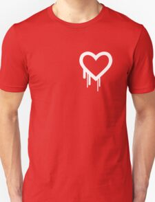 Heartbleed Bug Logo Bleeding Heart for Love T-Shirt