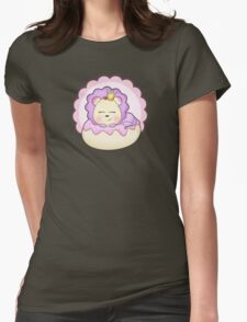 Cute baby animal lion on a pink icing Donut T-Shirt