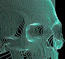 Digital Skull by Matitechnique