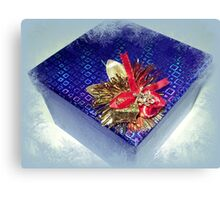 *All ready for Christmas giving* Canvas Print