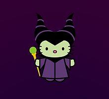 Hello Kitty - Maleficent by jebez-kali