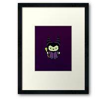 Hello Kitty - Maleficent Framed Print