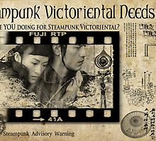 Steampunk:  Victoriental by Jon Burke