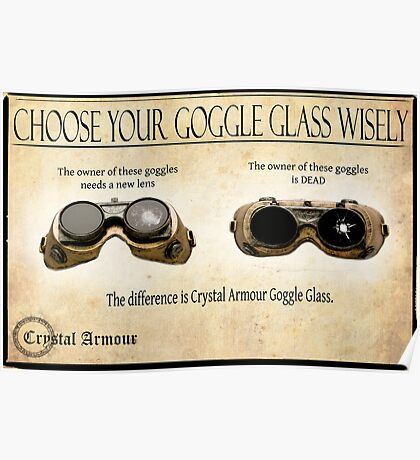 Steampunk:  Goggle Glass Poster
