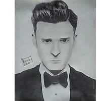Justin Timberlake 2 Photographic Print