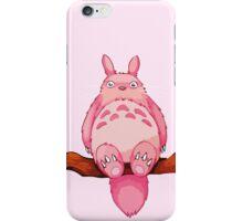 Pink my neighboor Totoro from Studio Ghibli iPhone Case/Skin