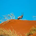 Oryx on an African Hill by Marylou Badeaux