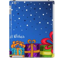 card with gifts iPad Case/Skin