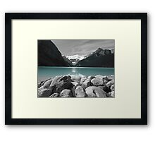 Glacier Water Framed Print