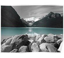 Glacier Water Poster
