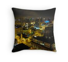 San Diego from the sky Throw Pillow