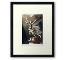 Must. Escape. Christmas Framed Print