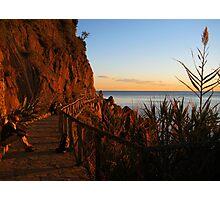 Cinque Terre Sunsets Photographic Print