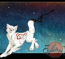 Amaterasu, the Sun by AspenBear