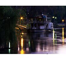 Riverboat Sunset.... Photographic Print