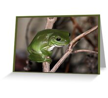 Of course I'm a greenie! Greeting Card