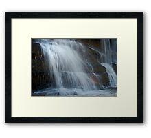 Queen's Cascades  Framed Print