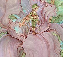 Iris by JamesBrowneArt