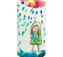 the storm goes drip drip drip iPhone Case/Skin
