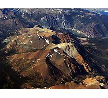 Mountains: A Bird's Eye View Photographic Print