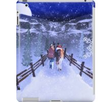 A Walk in the Snow iPad Case/Skin