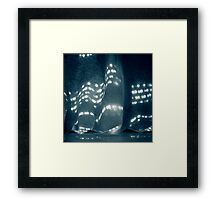 Soft-Nights and City-Lights Framed Print
