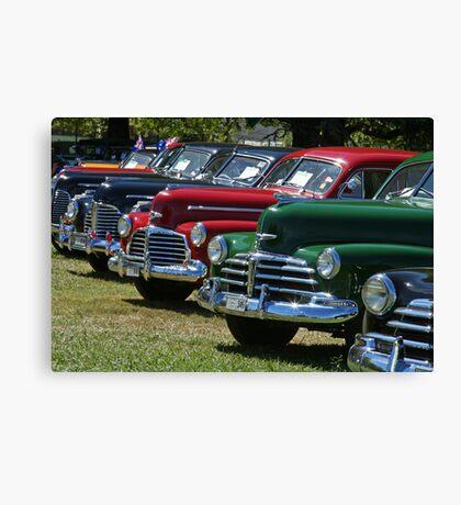 Historic Vehicles Canvas Print