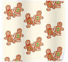 Gingerbread People Poster