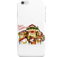 Merry Smashmas iPhone Case/Skin