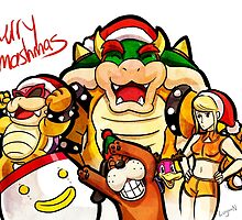 Merry Smashmas by Logan Niblock