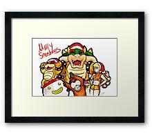 Merry Smashmas Framed Print