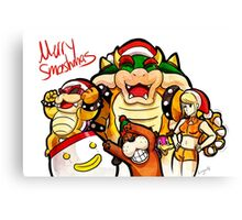 Merry Smashmas Canvas Print