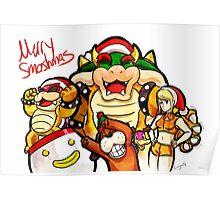 Merry Smashmas Poster