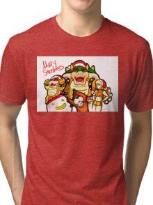 Merry Smashmas Tri-blend T-Shirt