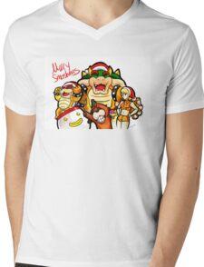 Merry Smashmas Mens V-Neck T-Shirt