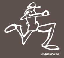 Running Person (dark shirt) by Ronald Wigman