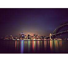 Sydney Harbour Reflection Photographic Print