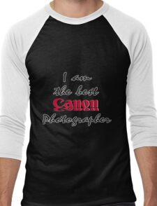 The Best Canon Photographer Men's Baseball ¾ T-Shirt