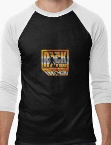We Will Rock You! Men's Baseball ¾ T-Shirt